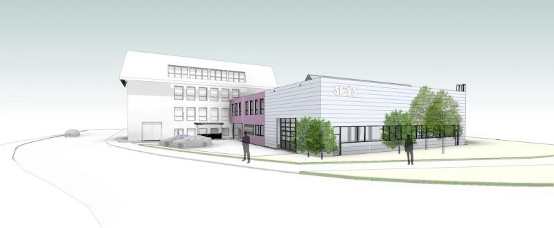 Přístavba odborné učebny pro praktickou výuku SPŠ stavební Havlíčkův Brod