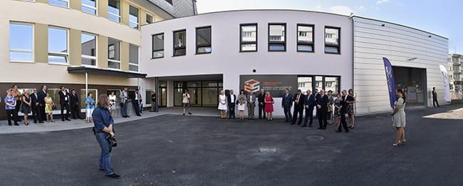Slavnostní otevření přístavby odborné učebny Střední průmyslové školy stavební