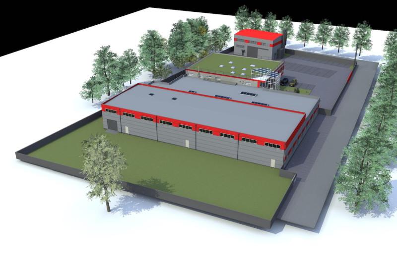 Výstavba vývojového a zkušebního centra pro společnost Avaps s.r.o.