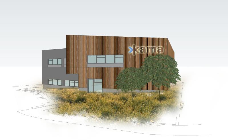 Rekonstrukce a nadstavba provozní budovy společnosti K A M A spol. s r.o.