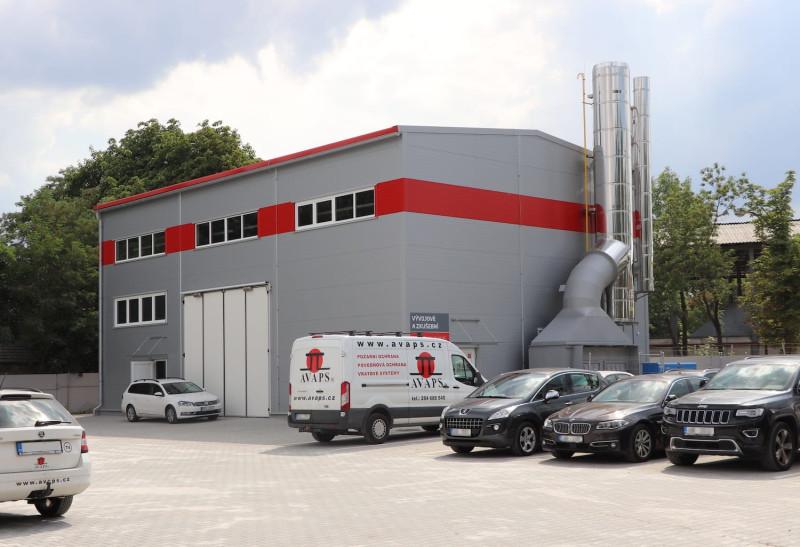 Dokončení a předání stavby vývojového a zkušebního centra pro společnost Avaps s.r.o.
