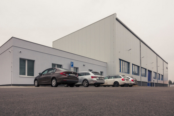 Výrobní hala společnosti MONTS s.r.o.