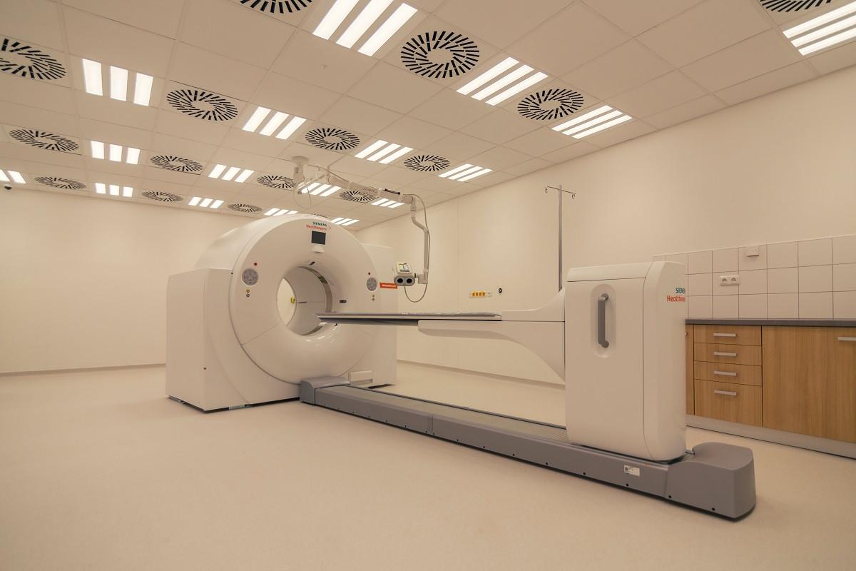 Pracoviště PET/CT Pardubické nemocnice