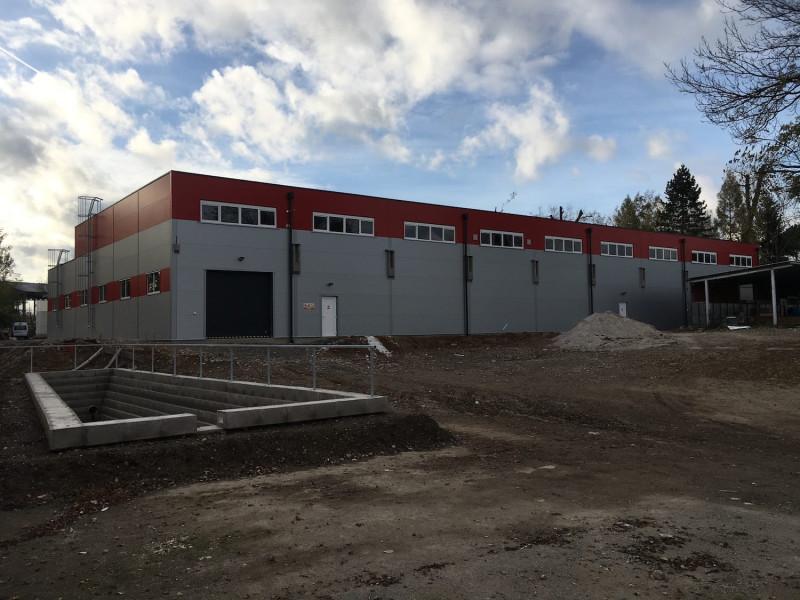 Novostavba výrobní haly pro společnost Avaps s.r.o. dokončena