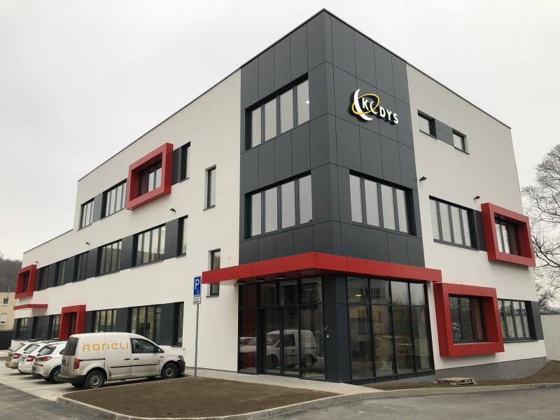 Nové sídlo společnosti KODYS spol. s r.o. zkolaudováno a předáno do užívání