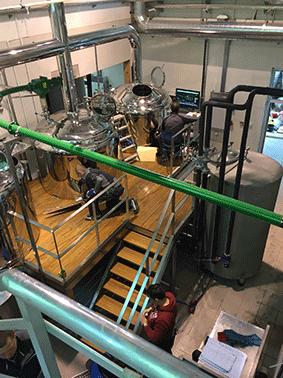 Stavba pivovaru v Srbsku se blíží do finále