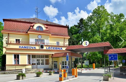 Rekonstrukce pavilonu E Hamzovy odborné léčebny pro děti a dospělé v Luži-Košumberku