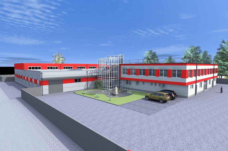 Výstavba výrobní haly pro společnost Avaps s.r.o.